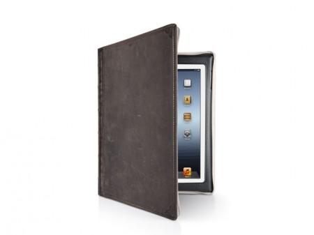 Etui Bookbook iPad Vintage brown