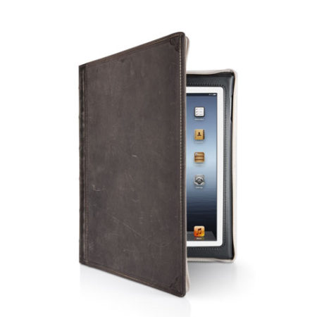 Etui Bookbook iPad Vintage brown