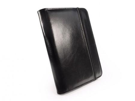 Housse cuir noire iPad mini - Tuffluv